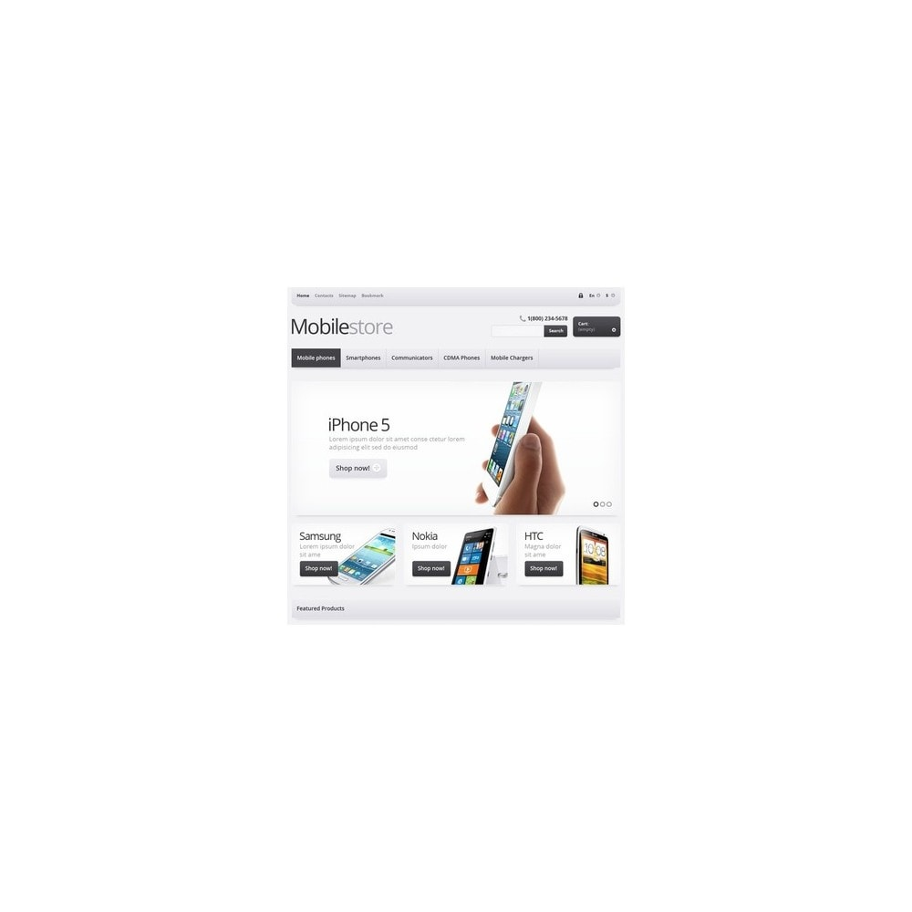 theme - Eletrônicos & High Tech - Responsive Mobile Store - 3