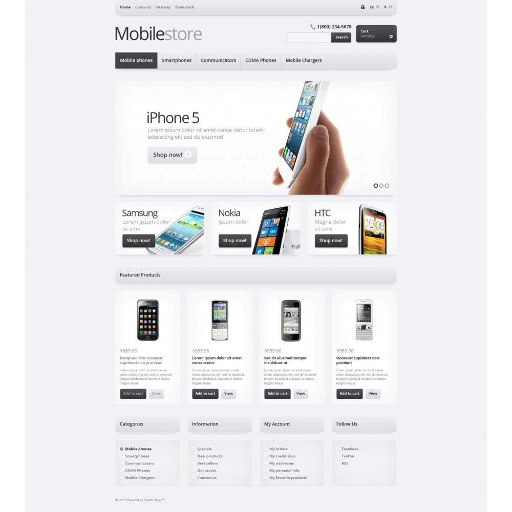 theme - Eletrônicos & High Tech - Responsive Mobile Store - 5