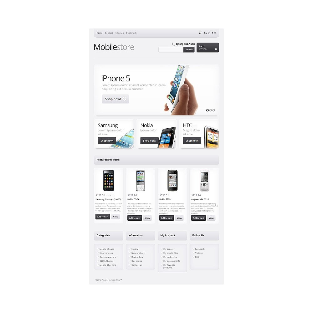 theme - Eletrônicos & High Tech - Responsive Mobile Store - 8
