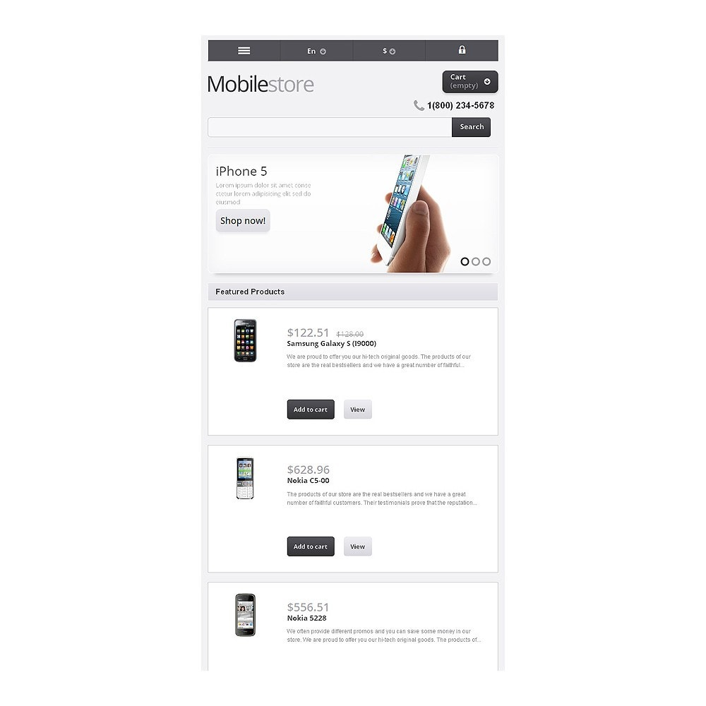 theme - Eletrônicos & High Tech - Responsive Mobile Store - 9