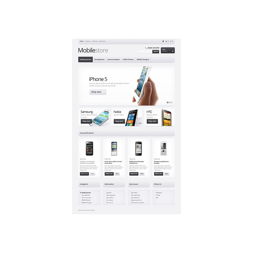 theme - Eletrônicos & High Tech - Responsive Mobile Store - 11