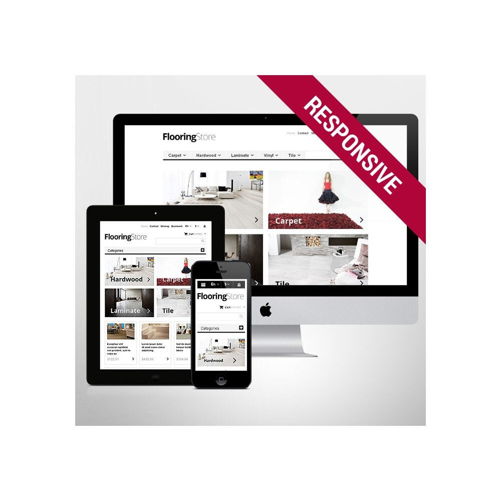 theme - Art & Culture - Responsive Flooring Store - 1
