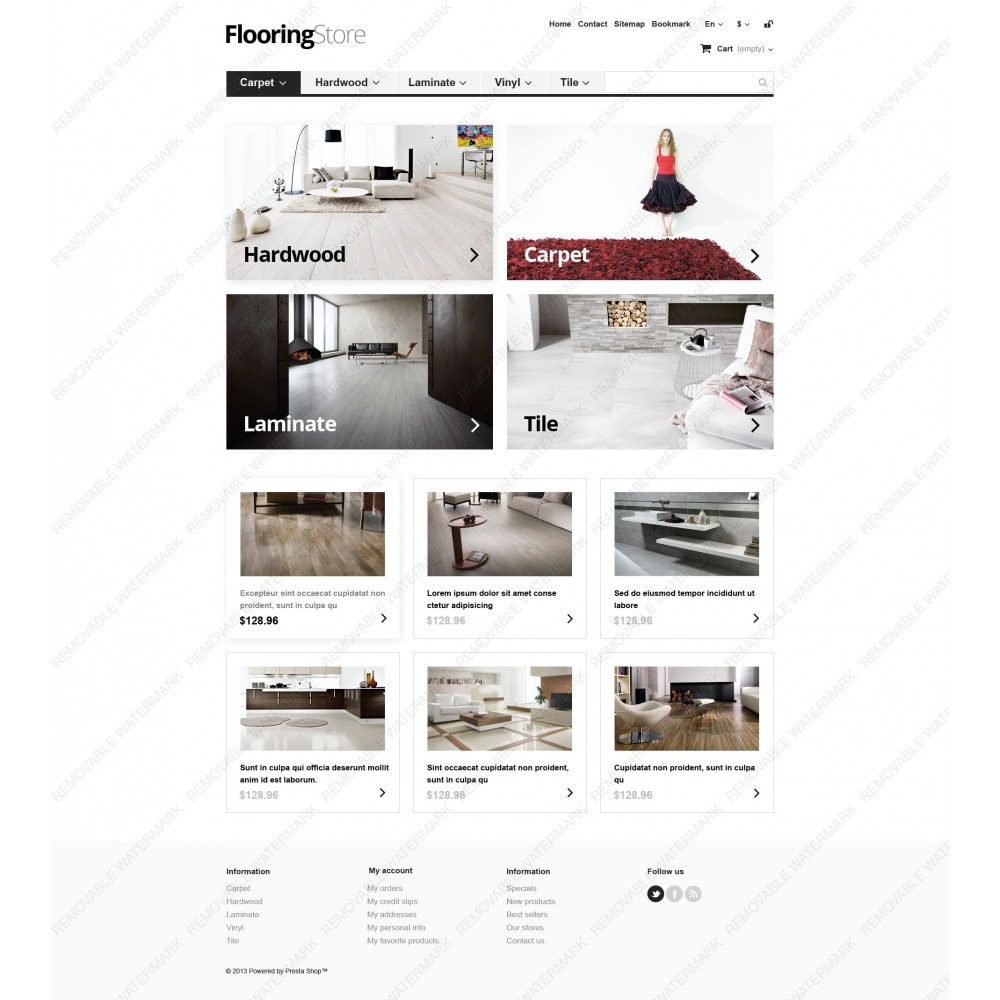 theme - Art & Culture - Responsive Flooring Store - 6
