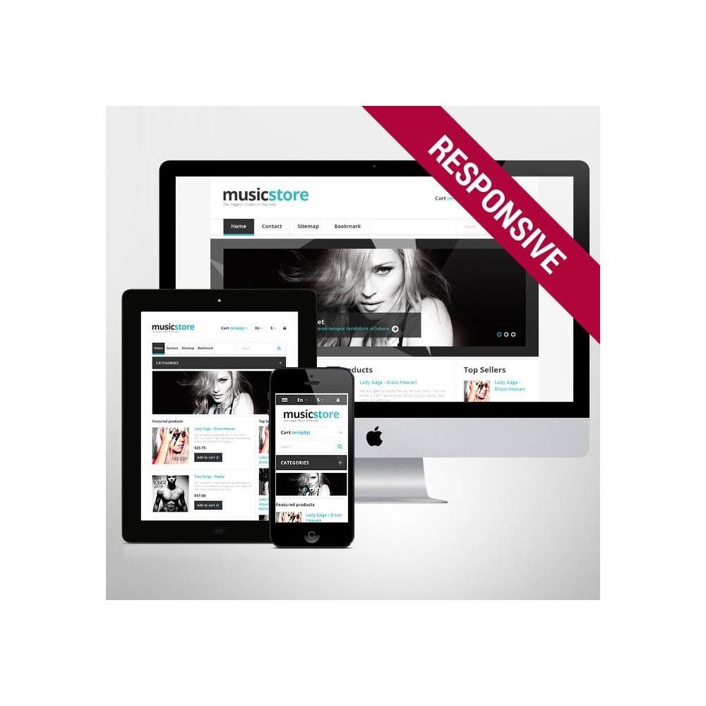 theme - Kultura & Sztuka - Responsive Music Store - 1