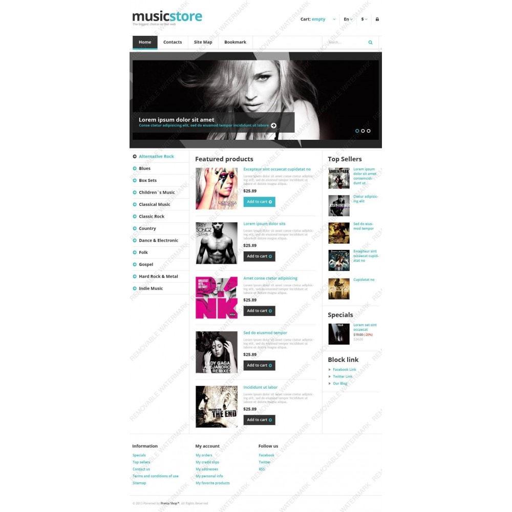 theme - Kultura & Sztuka - Responsive Music Store - 4