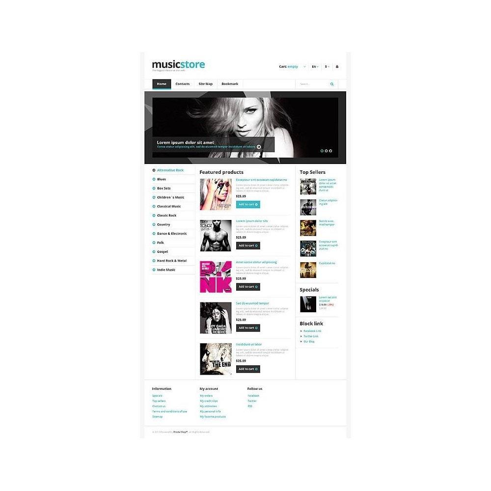 theme - Kultura & Sztuka - Responsive Music Store - 11