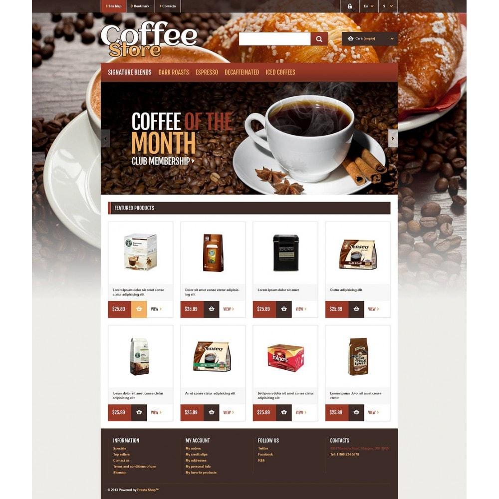 theme - Food & Restaurant - Responsive Coffee Store - 2