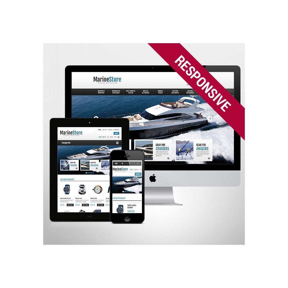 theme - Спорт и Путешествия - Responsive Marine Store - 1