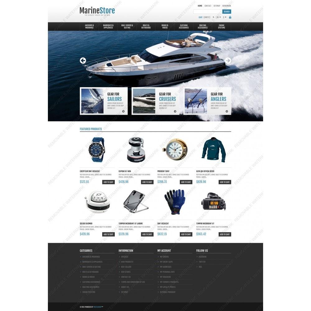 theme - Спорт и Путешествия - Responsive Marine Store - 5
