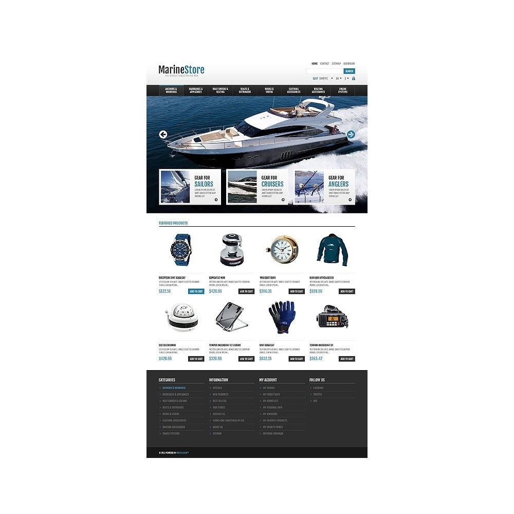theme - Спорт и Путешествия - Responsive Marine Store - 10