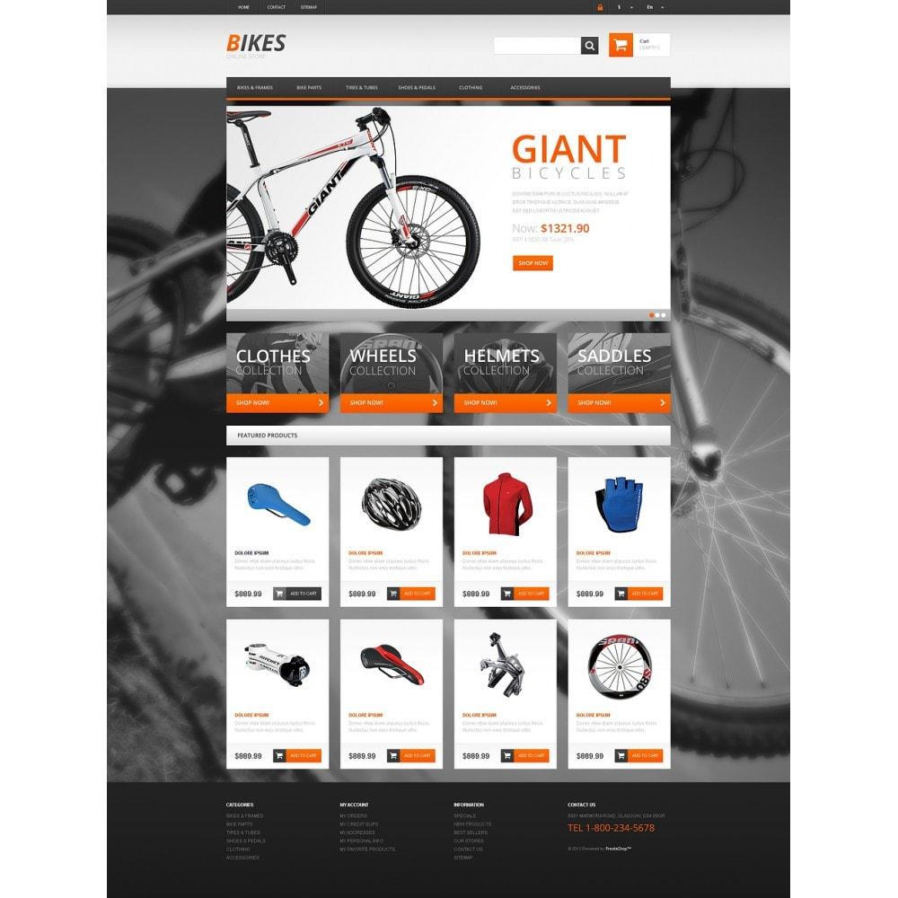 theme - Deportes, Actividades y Viajes - Responsive Bikes Store - 2