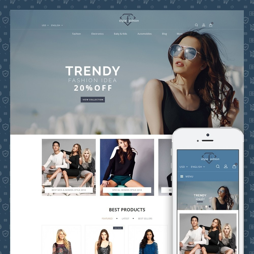 theme - Fashion & Shoes - Style Fashion Store - 1