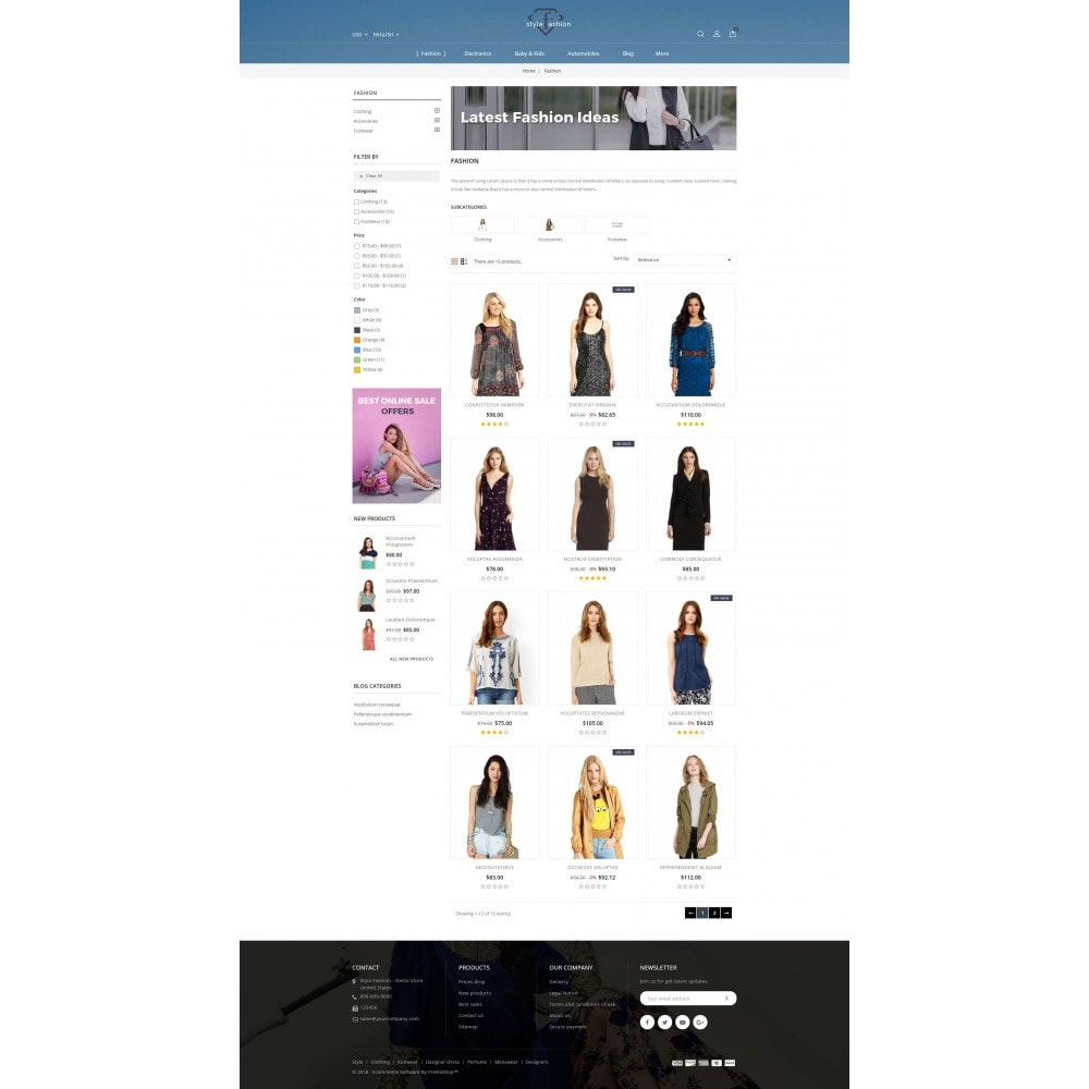 theme - Fashion & Shoes - Style Fashion Store - 3
