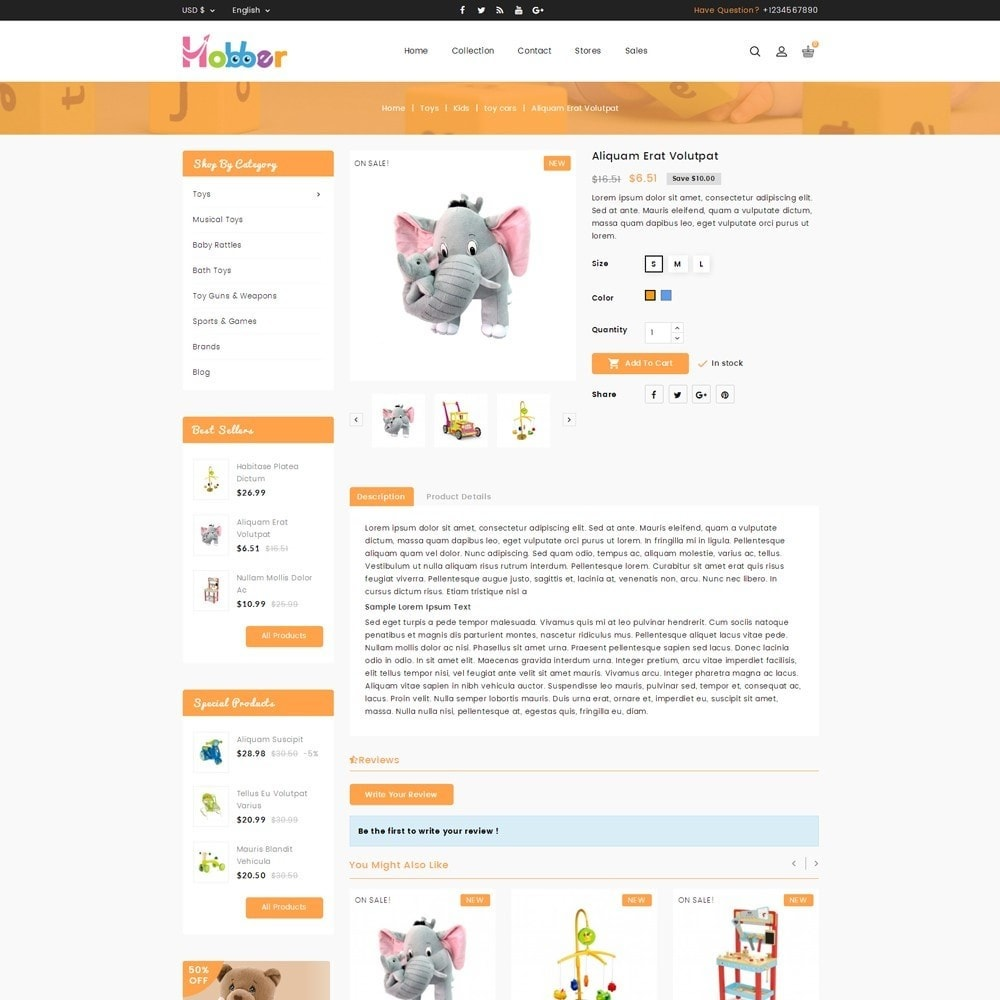 theme - Niños y Juguetes - Hobber Toy Store - 5