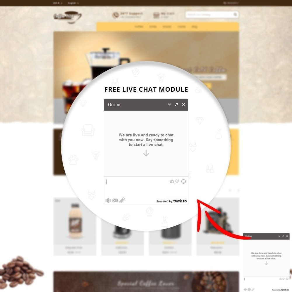theme - Drink & Wine - Coffeehub Online Store - 6