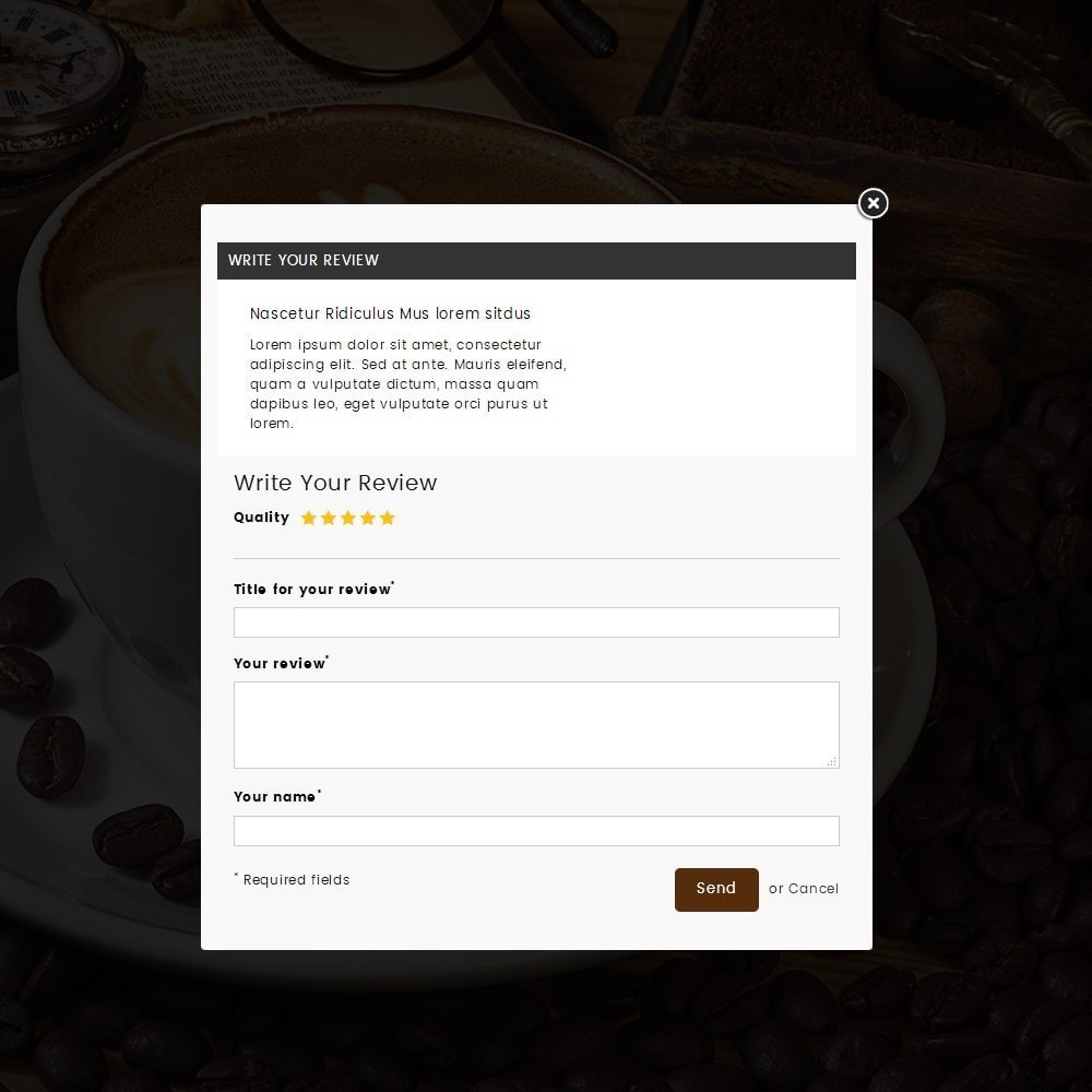 theme - Drink & Wine - Coffeehub Online Store - 8