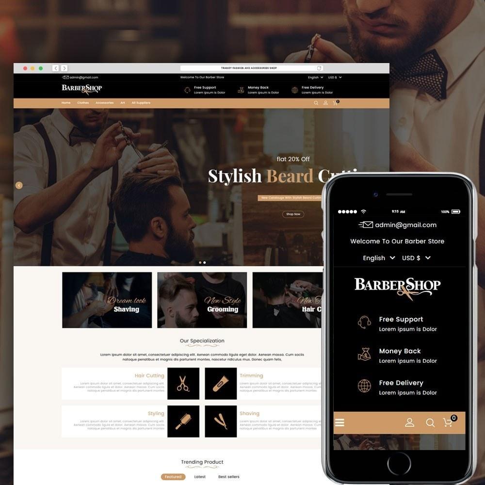 theme - Salud y Belleza - Barber Shop - 1