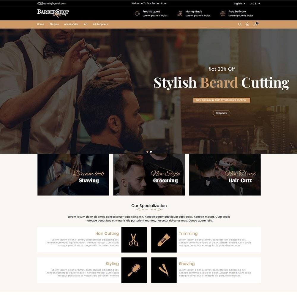 theme - Salud y Belleza - Barber Shop - 2