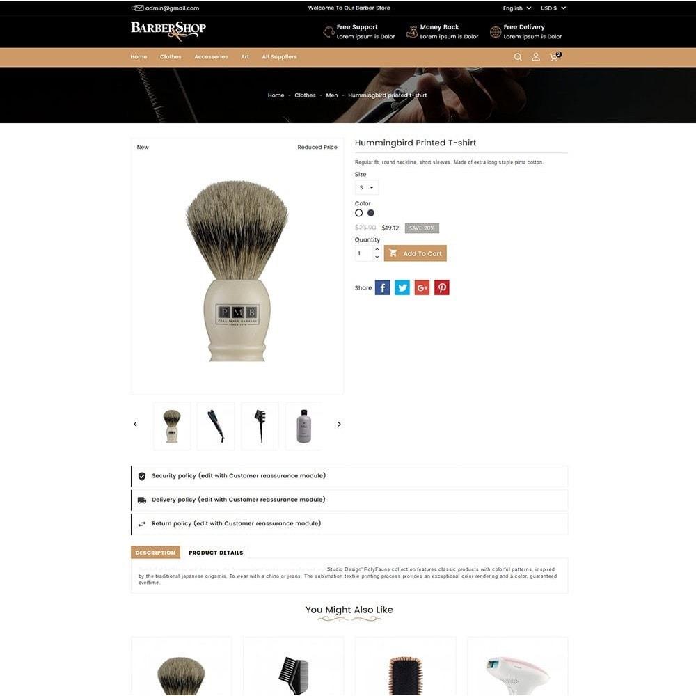 theme - Salud y Belleza - Barber Shop - 4
