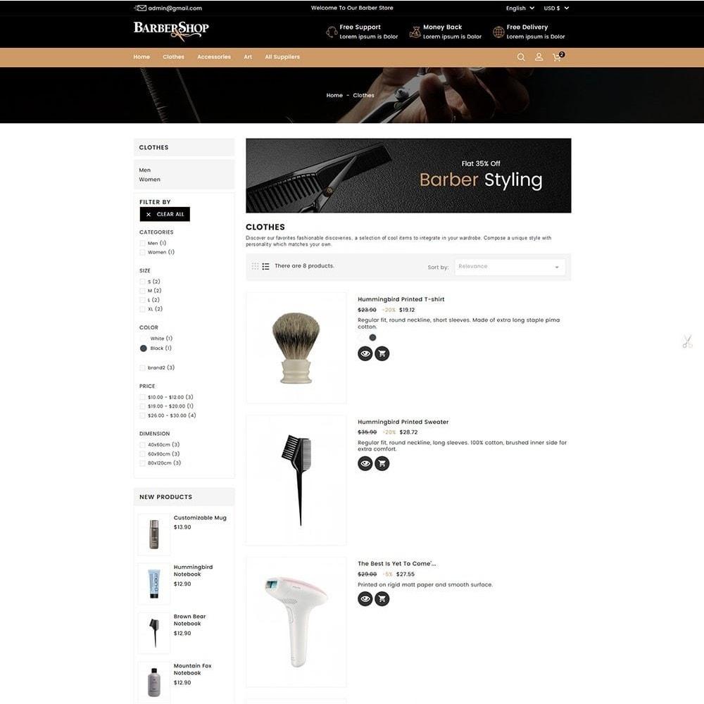 theme - Gesundheit & Schönheit - Barber Shop - 5