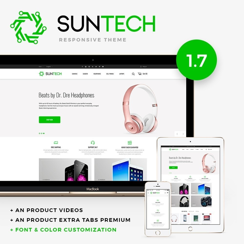 theme - Elektronik & High Tech - Suntech - High-tech Shop - 1