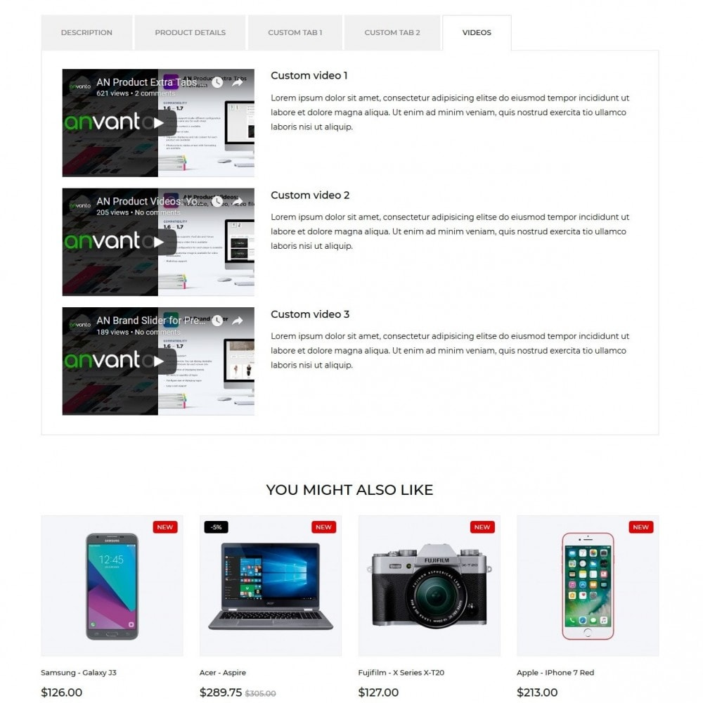 theme - Elektronik & High Tech - Suntech - High-tech Shop - 9