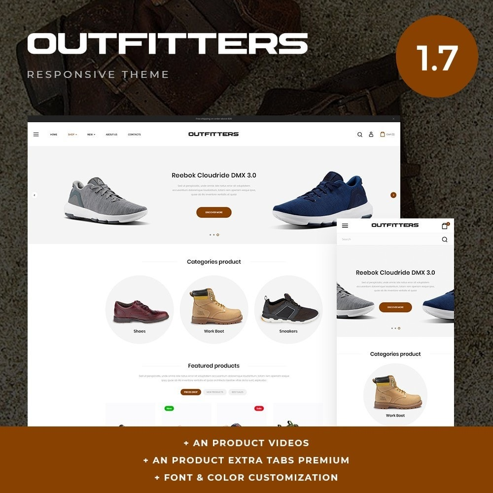 theme - Mode & Schoenen - Outfitters Shop - 1