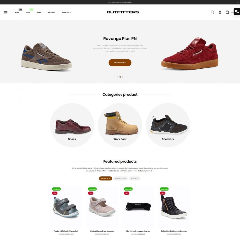 theme - Mode & Schoenen - Outfitters Shop - 2