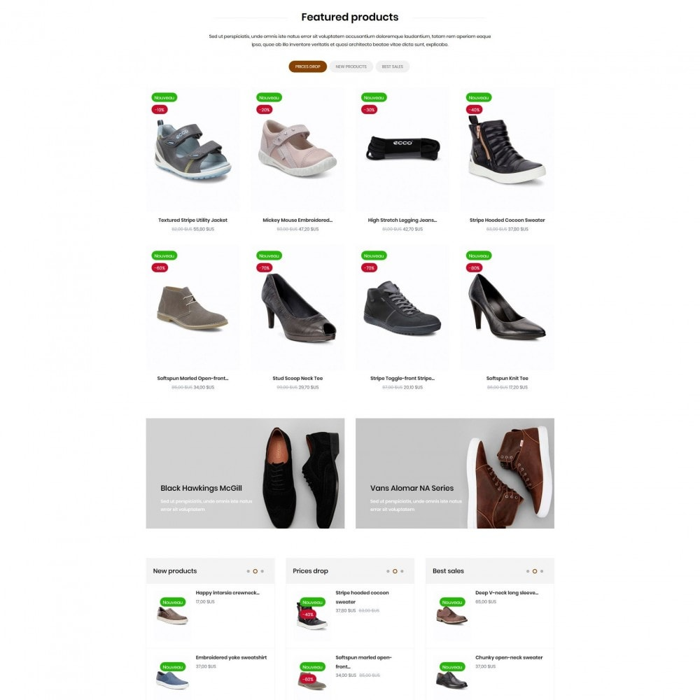 theme - Mode & Schoenen - Outfitters Shop - 3