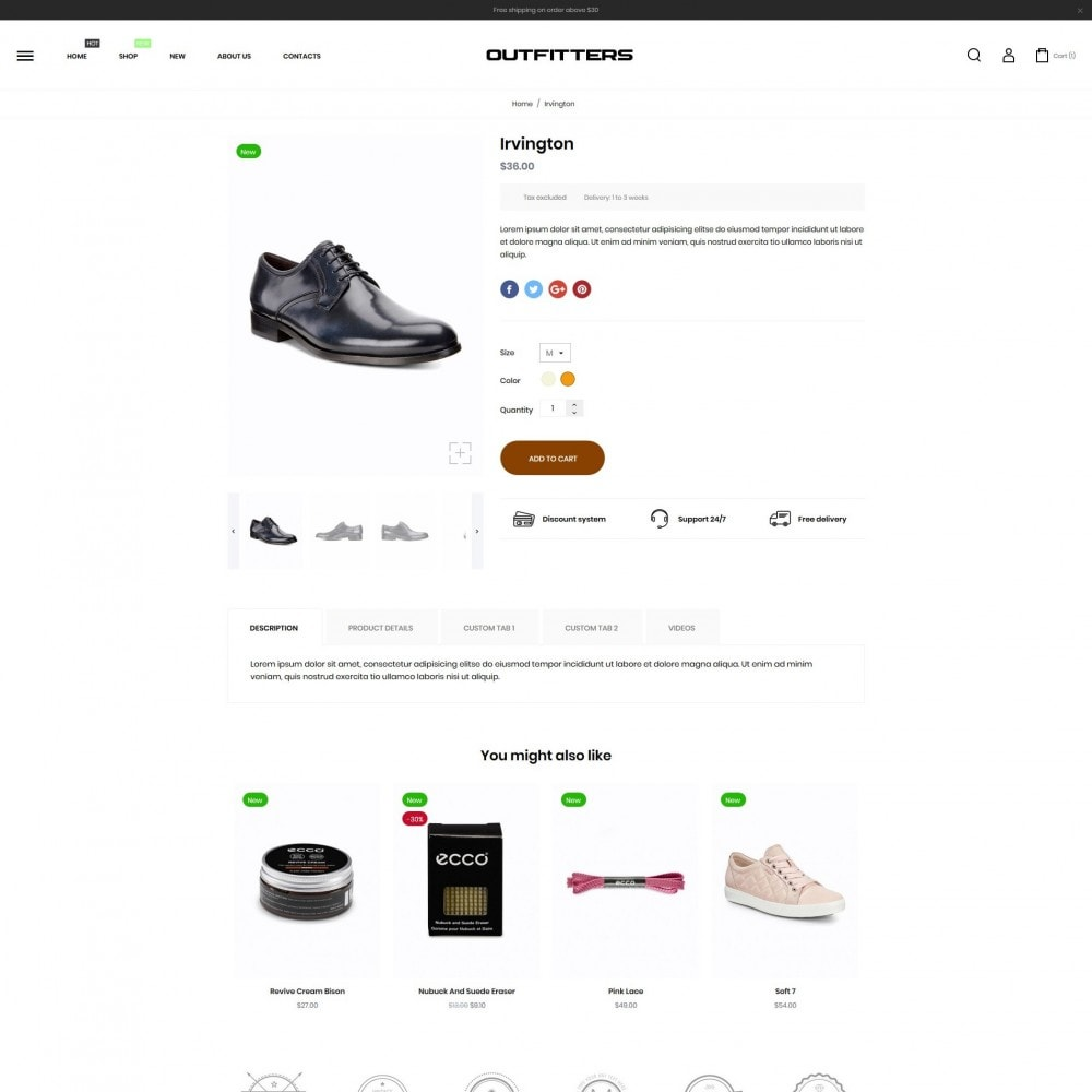 theme - Mode & Schoenen - Outfitters Shop - 6