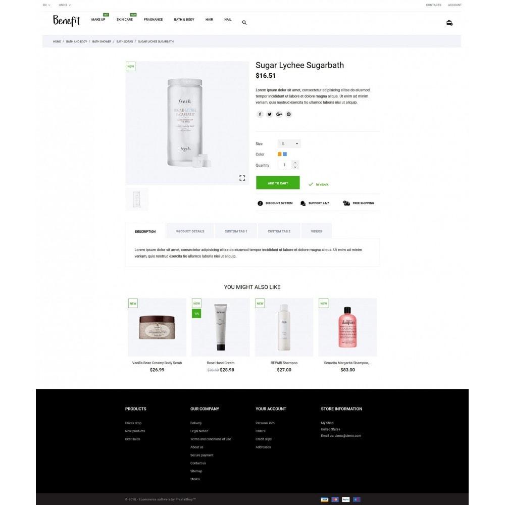 theme - Health & Beauty - Benefit Cosmetics - 5