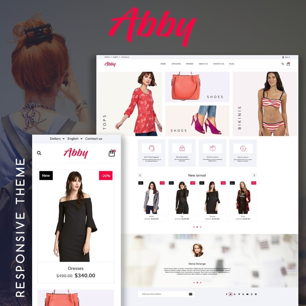 theme - Mode & Schoenen - Abby Fashion Store - 1