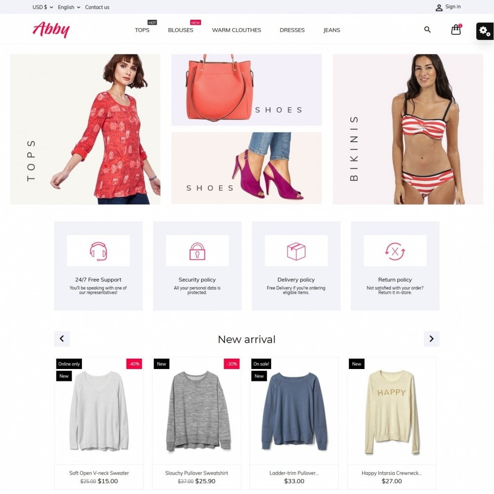 theme - Mode & Schoenen - Abby Fashion Store - 2