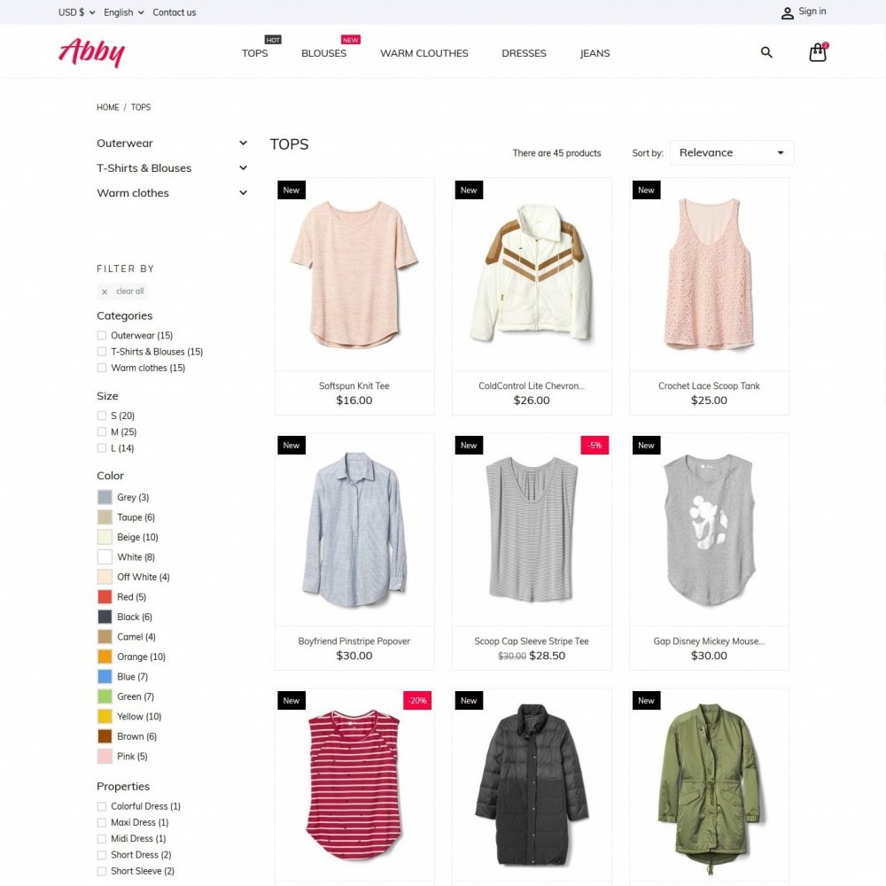 theme - Mode & Schoenen - Abby Fashion Store - 5