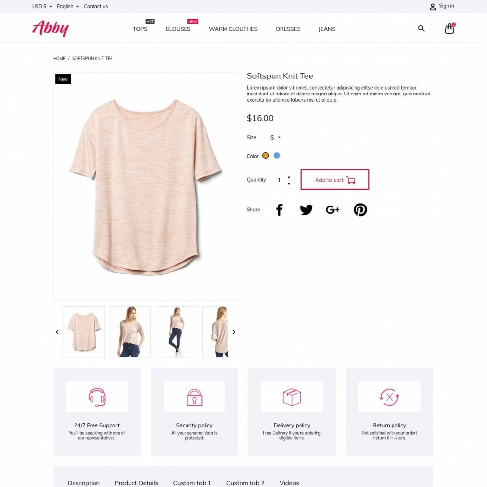 theme - Mode & Schoenen - Abby Fashion Store - 6