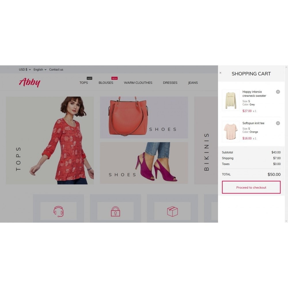 theme - Mode & Schoenen - Abby Fashion Store - 7