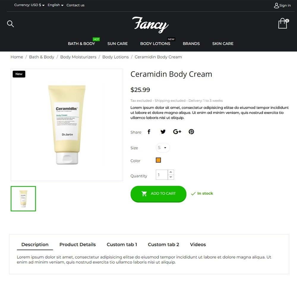 theme - Gezondheid & Schoonheid - Fancy Cosmetics - 6
