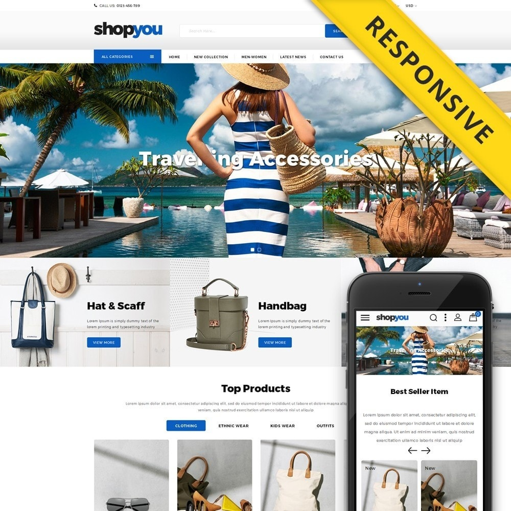 theme - Sports, Activities & Travel - Shopyou - Travel Store - 1