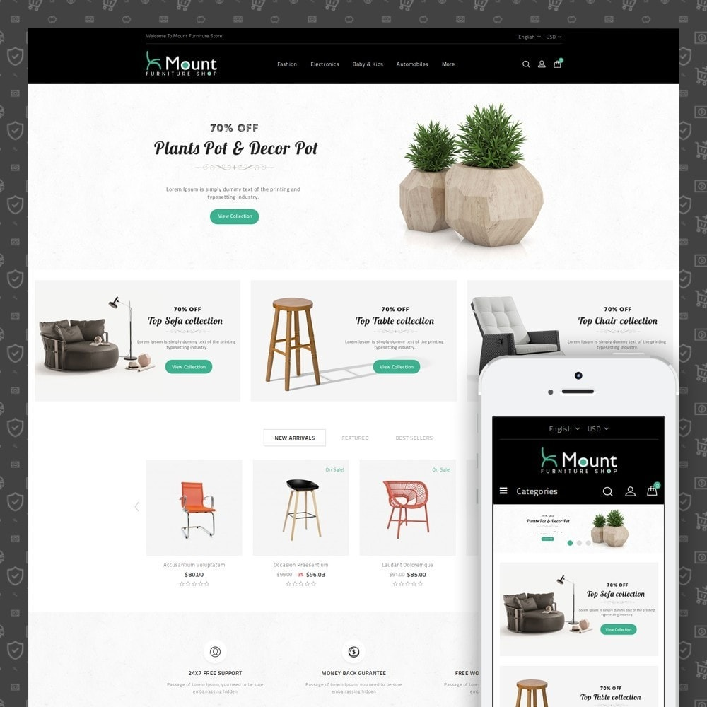 theme - Home & Garden - Mount Furniture Store - 1