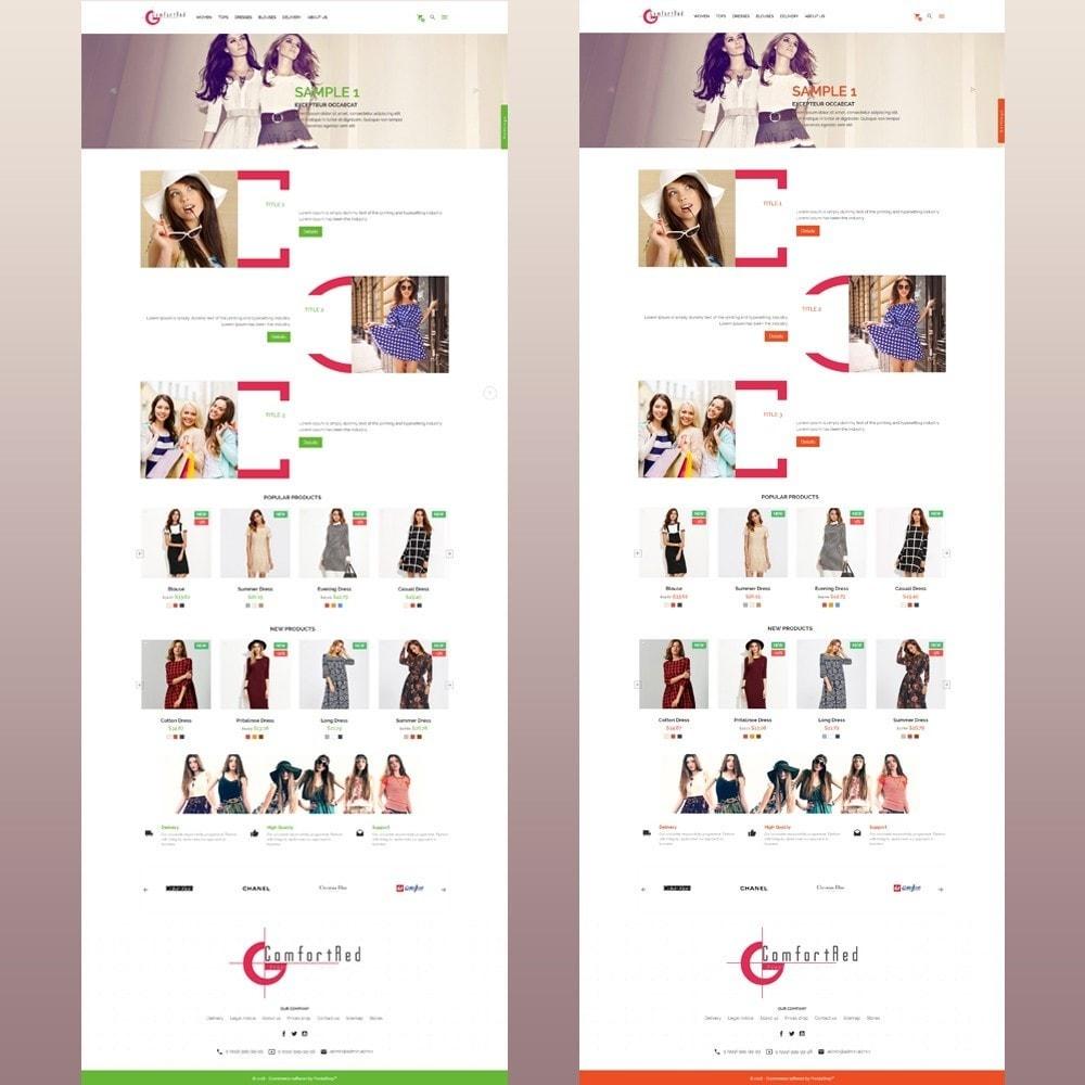 theme - Мода и обувь - ComfortRed магазин стильной одежды - 13