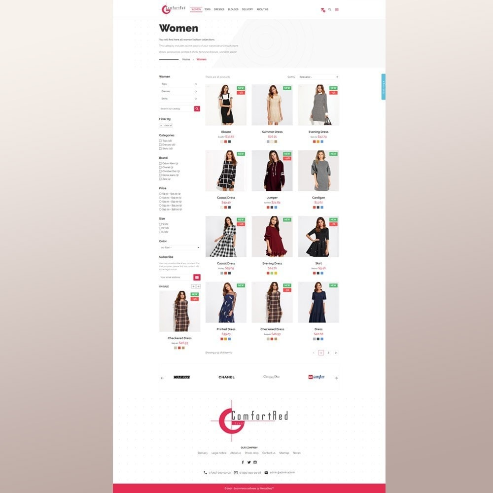 theme - Mode & Schoenen - ComfortRed Style Clothes Store - 5