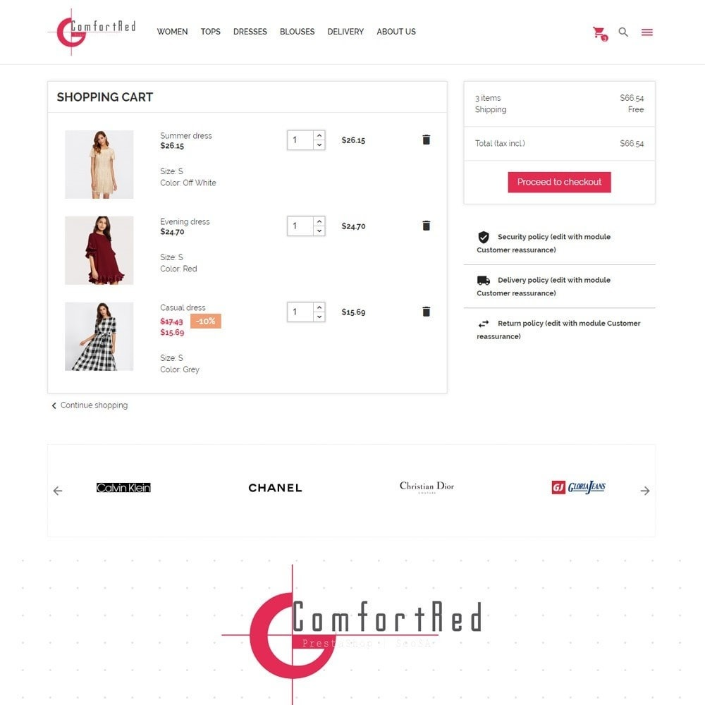 theme - Mode & Schoenen - ComfortRed Style Clothes Store - 9