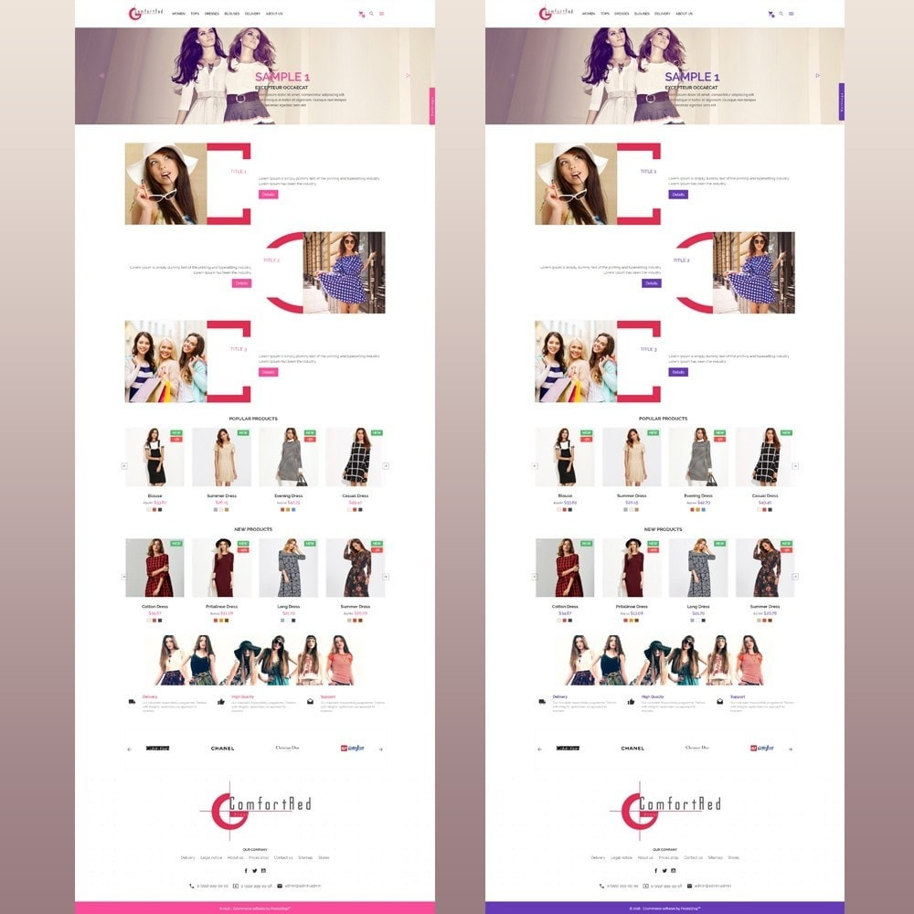 theme - Mode & Schoenen - ComfortRed Style Clothes Store - 12