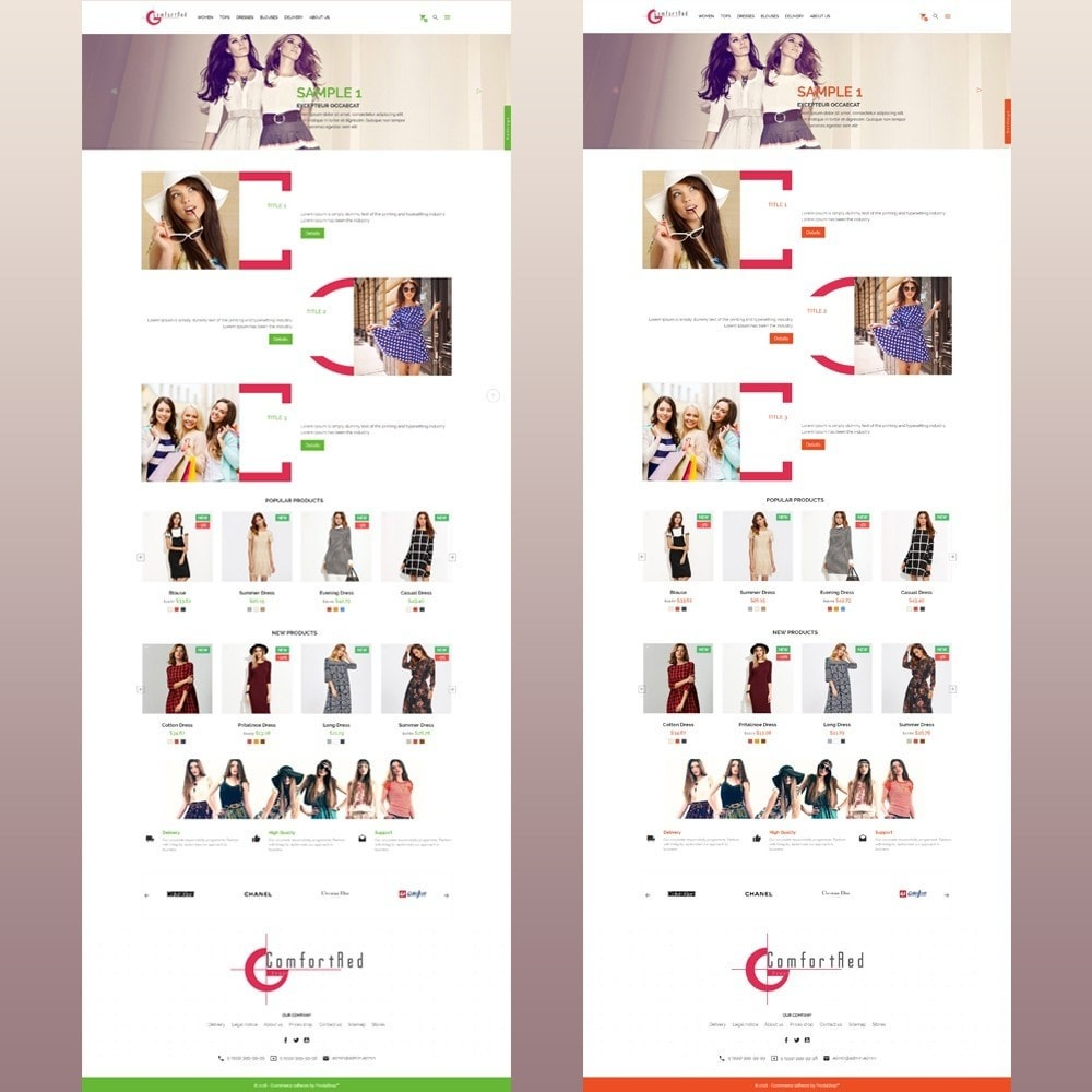 theme - Mode & Schoenen - ComfortRed Style Clothes Store - 13