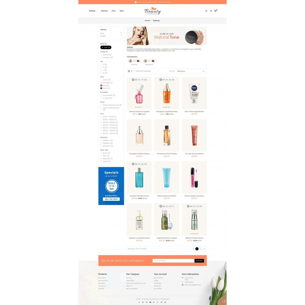theme - Gezondheid & Schoonheid - Beauty Spa & Cosmetics - 3