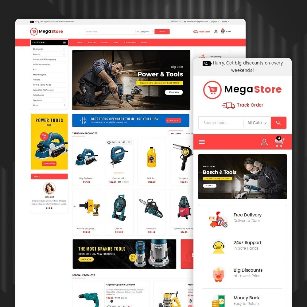 theme - Electronics & Computers - Mega Power Tools Store - 1