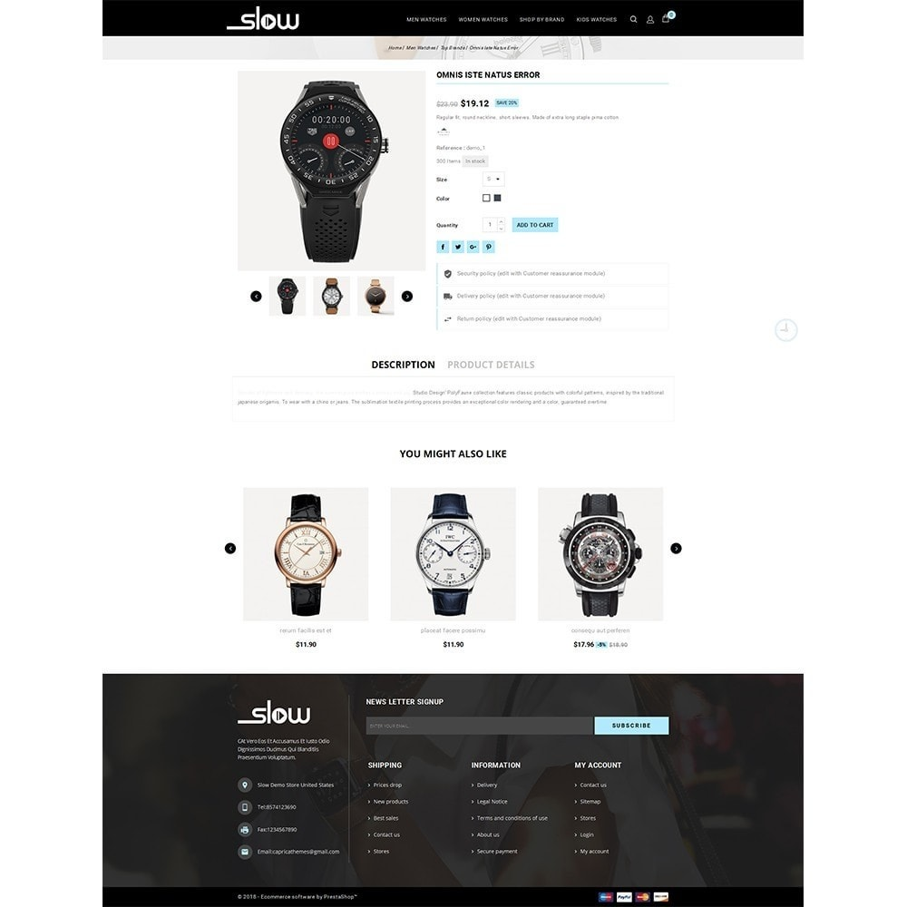 theme - Bellezza & Gioielli - Slow Watch Store - 5