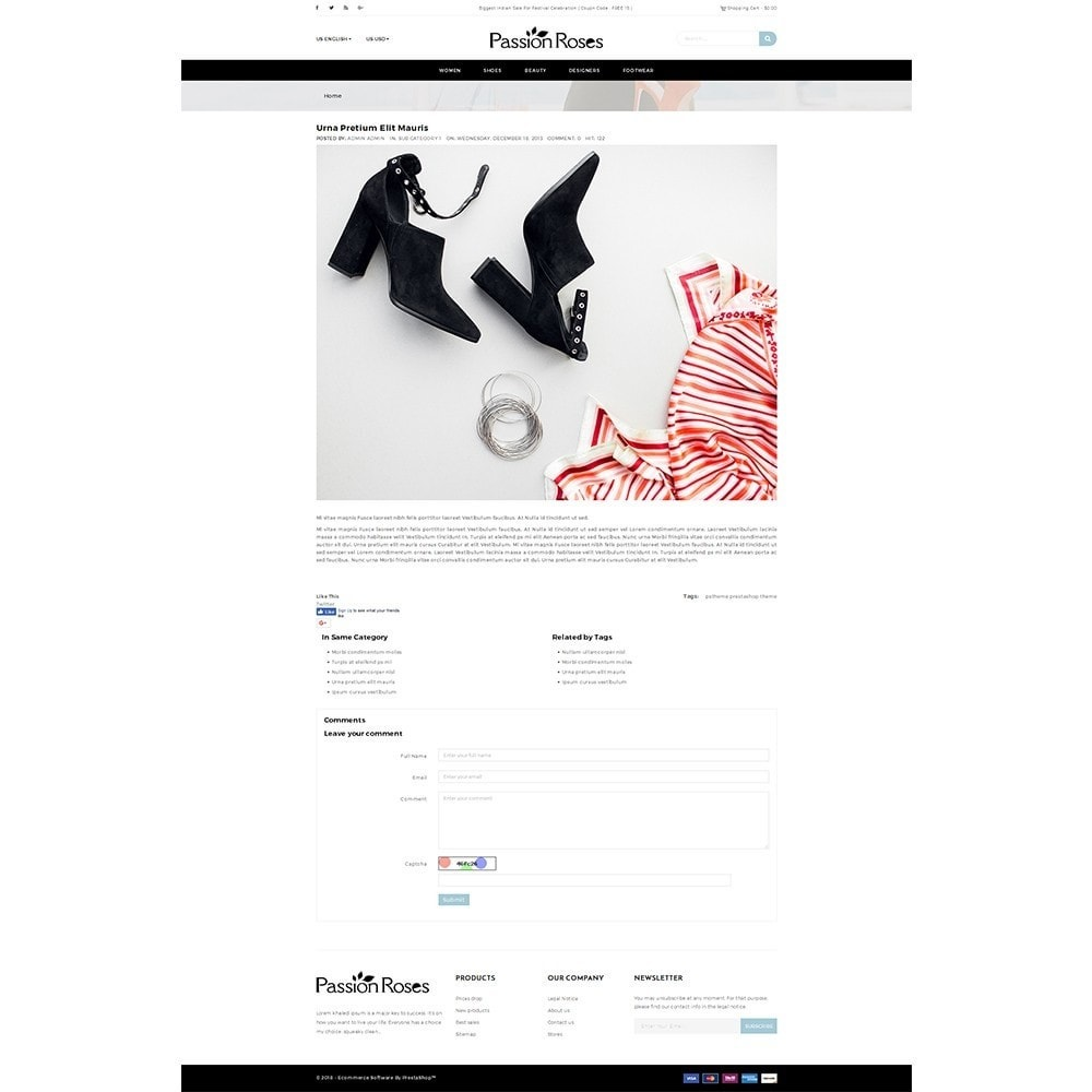 theme - Mode & Schoenen - Passion Roses Fashion Store - 6