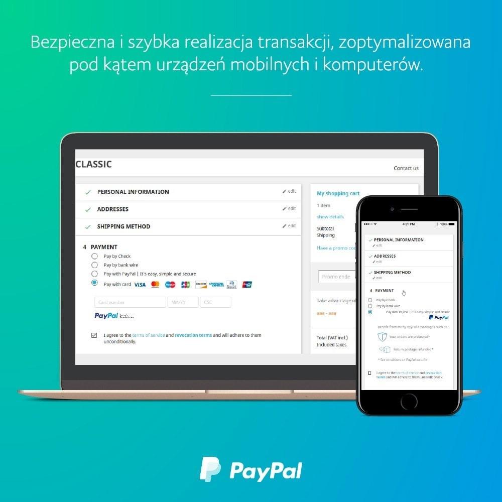 module - Płatność kartą lub Płatność Wallet - PayPal Oficjalny - 1