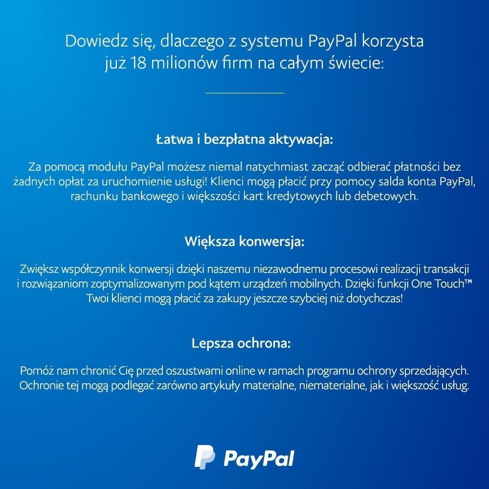 module - Płatność kartą lub Płatność Wallet - PayPal Oficjalny - 4